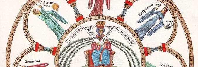 By Herrad von Landsberg (Hortus Deliciarum) [Public domain], via Wikimedia Commons (recadrée)